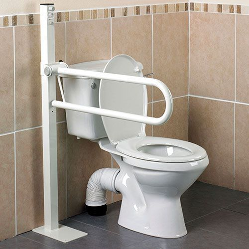 Handicap Bathroom Accessories floor mounted toilet safety rails #installtoiletliftseat >> find