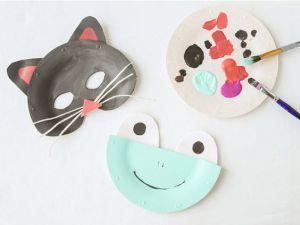 diy 15 mod les de masques r aliser avec des assiettes en carton rencontres artistiques. Black Bedroom Furniture Sets. Home Design Ideas