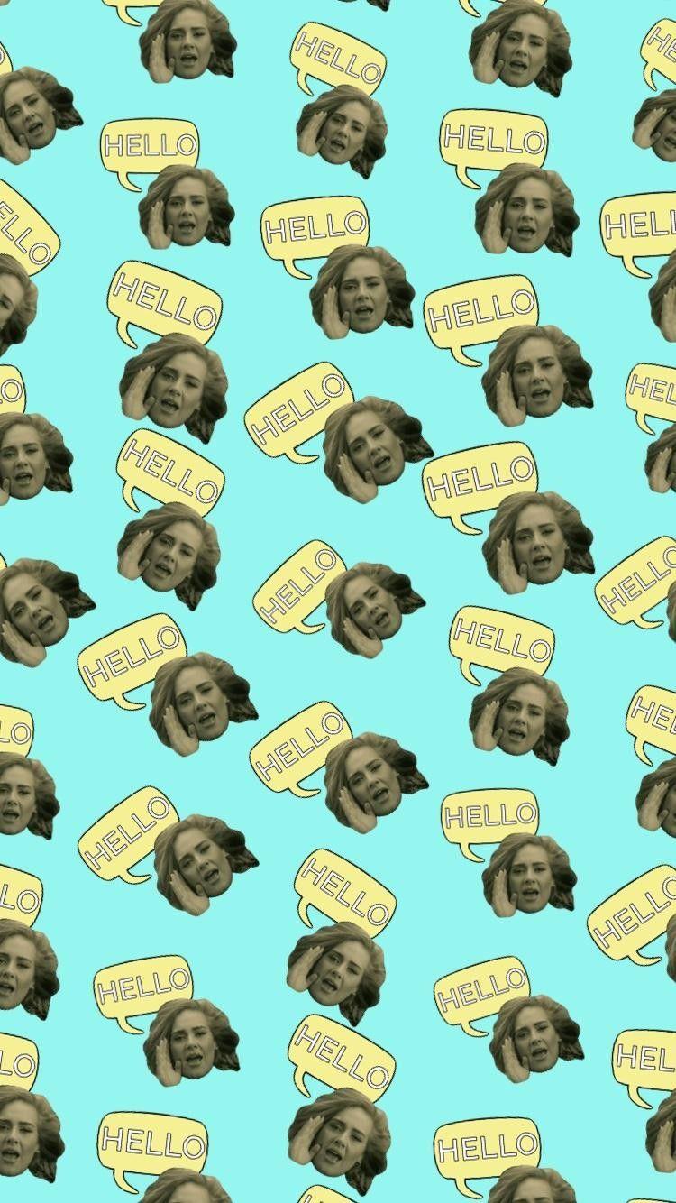 Adele Hello Wallpaper