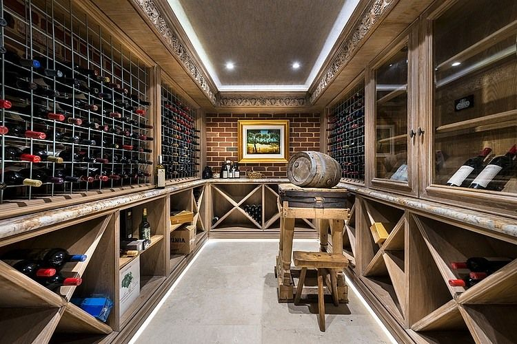 Dalkeith Residence By Oswald Homes Home Wine Cellars Wine