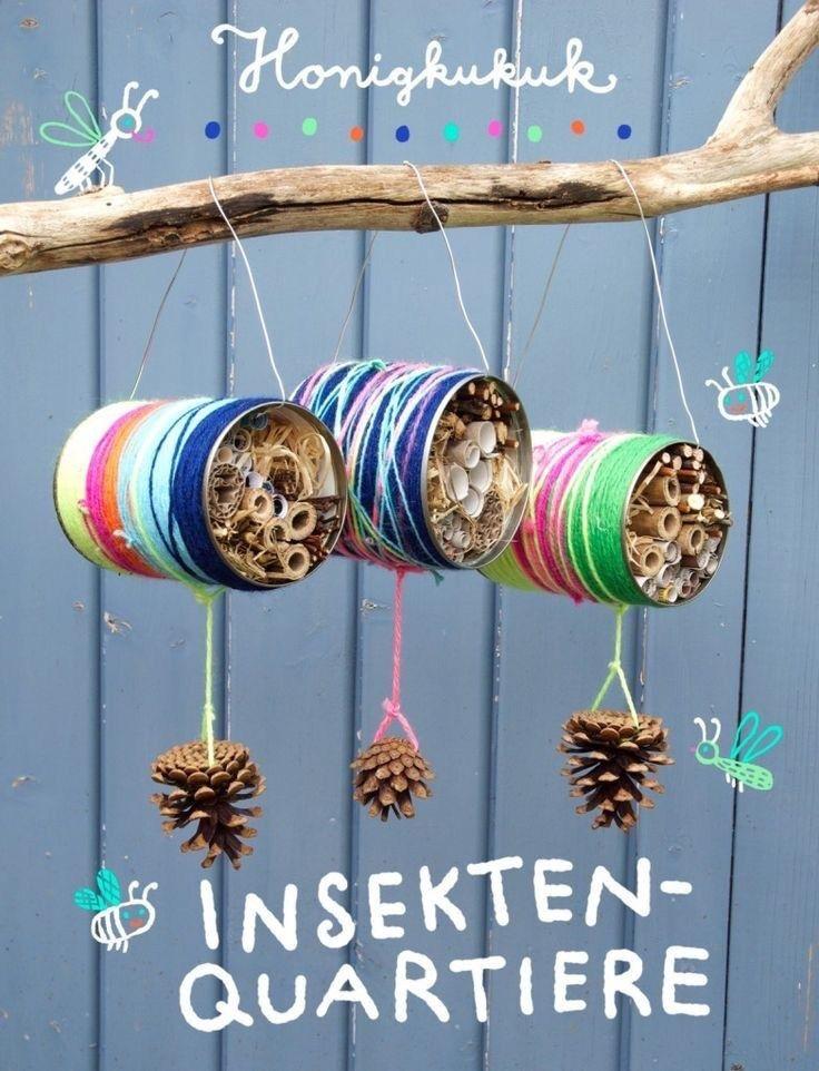 Mit Naturmaterialien basteln- tolle Bastelideen für Kinder und Kleinkinder Mission Mom #bastelideenkinder