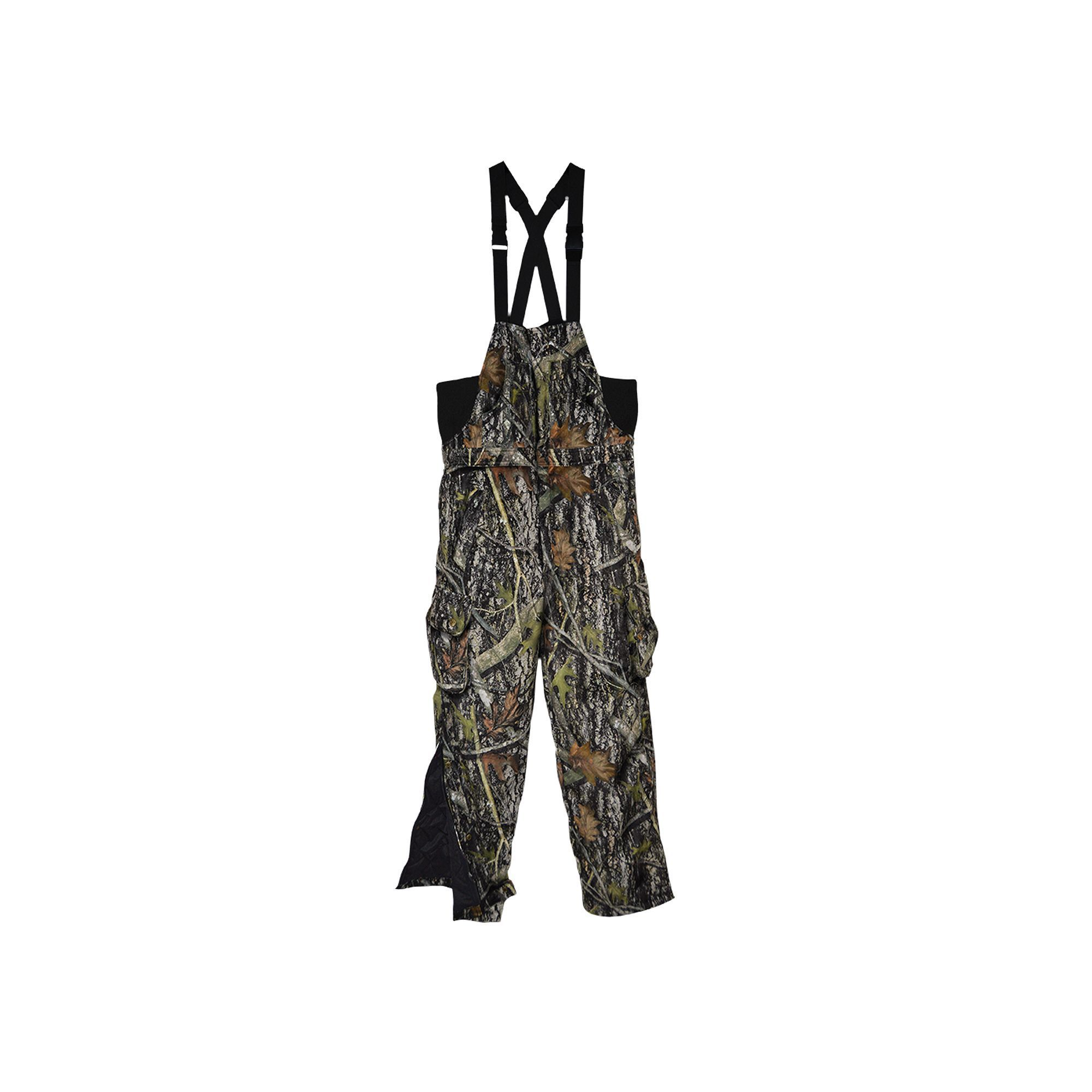37b95046392b5 Men's True Timber Camo Insulated Hunting Bib Overalls, Size: XL, Grey  (Charcoal)