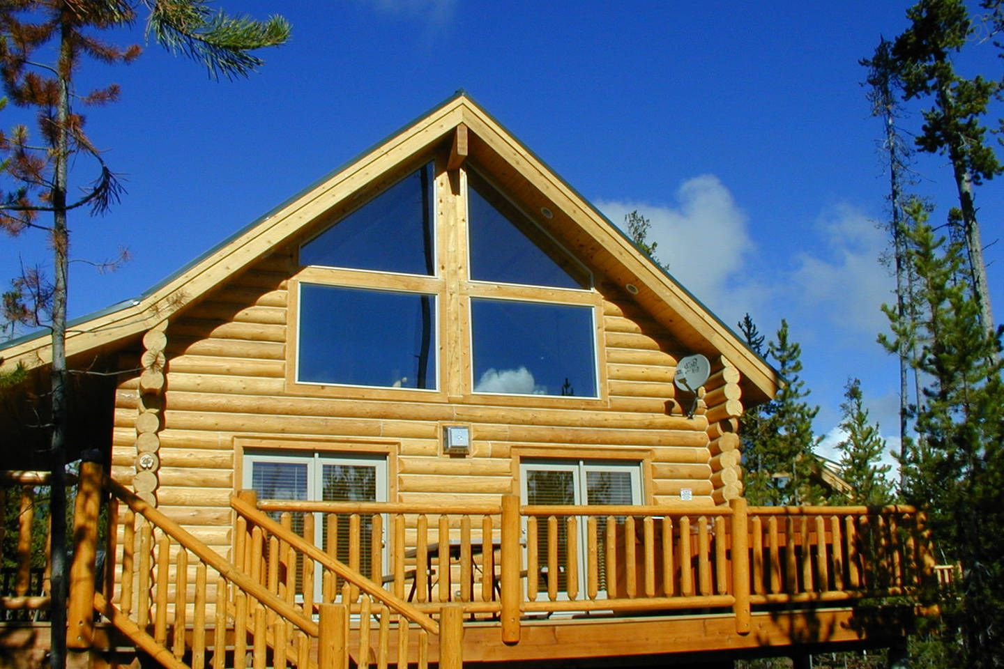 Two Bedroom Island Park Cabin Vacation Rental In Yellowstone