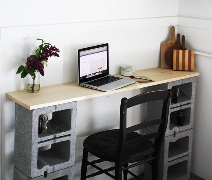 12 Tables Made With Cinder Blocks, Economy Edition   Remodelista
