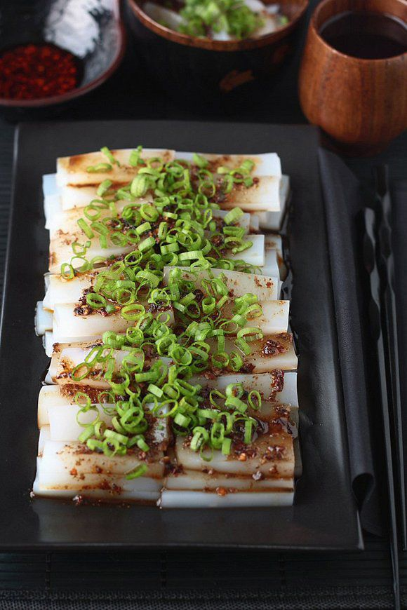 how to make mung bean starch