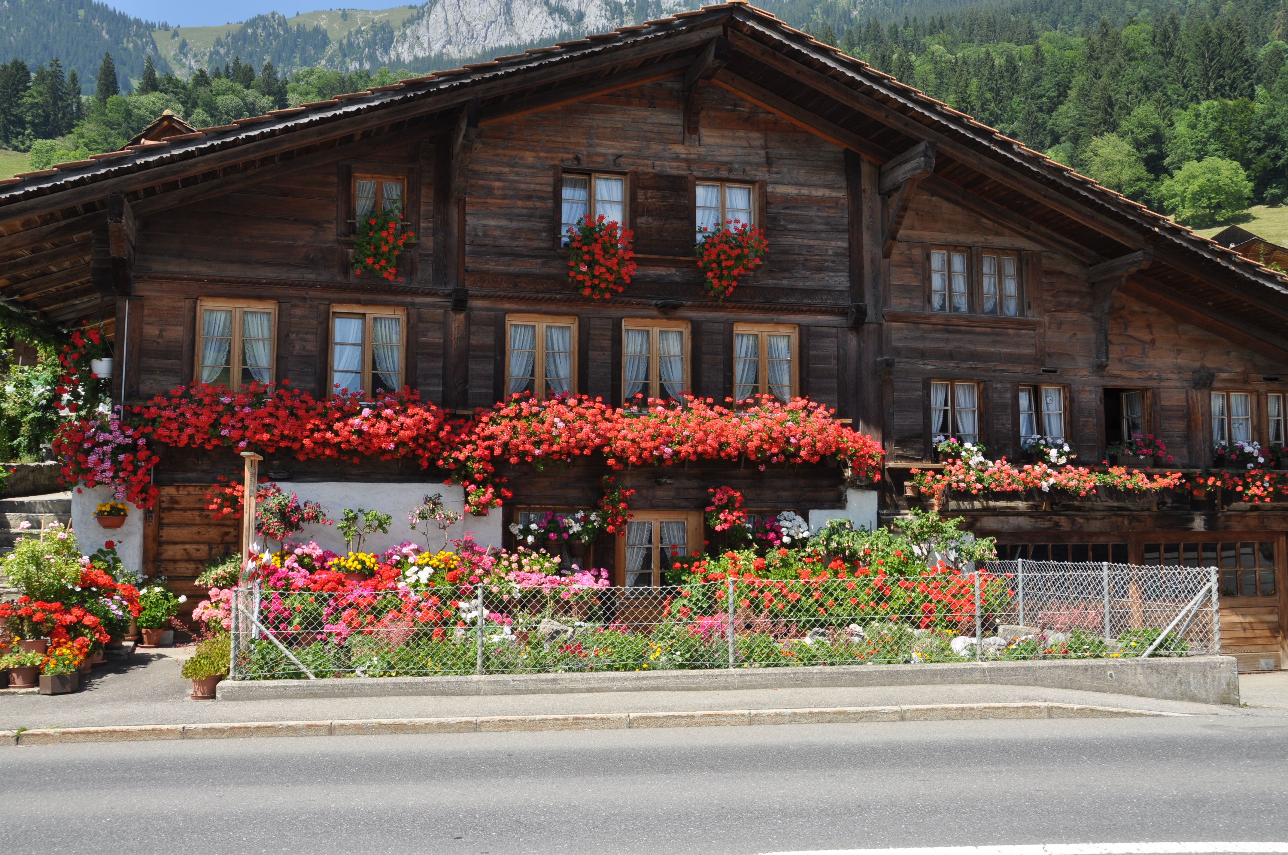 Swiss Chalet Decor Swiss Chalet I Have To Have Window Boxes Bavarian Style Homes