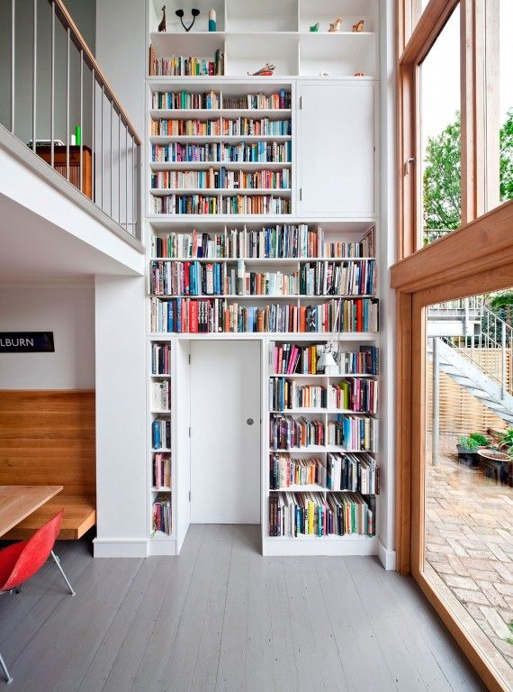 Pin de Roberta Gottardi en Bacheca Roberta Pinterest Dulce hogar - bibliotecas modernas en casa