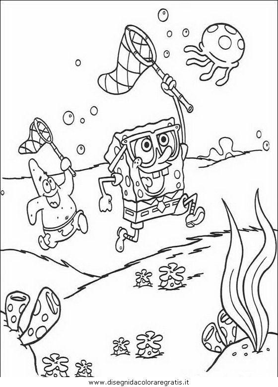 Disegni Spongebob Da Colorare.Guarda Tutti I Disegni Da Colorare Di Spongebob Www