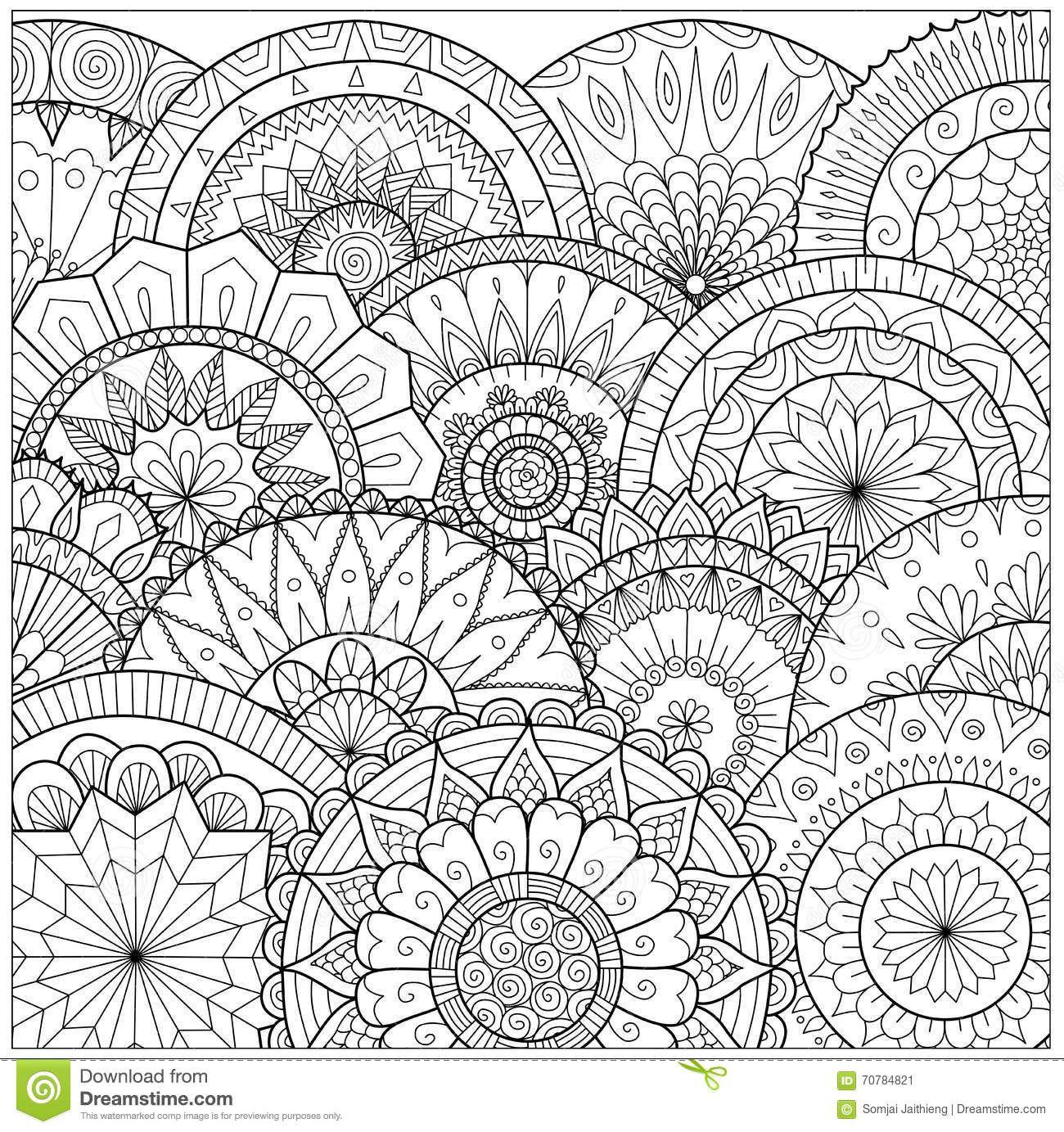 Pin de ikukochka en Coloriages   Pinterest   Mandalas