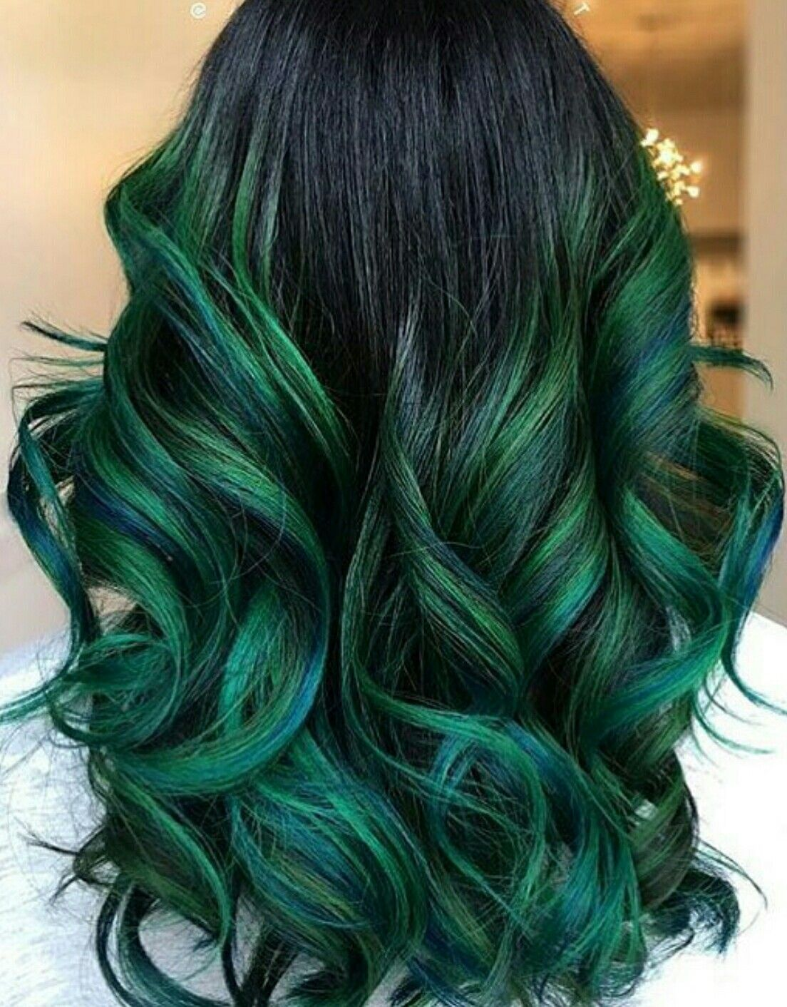 Green with envy Hair by jennipresident instagram  hair