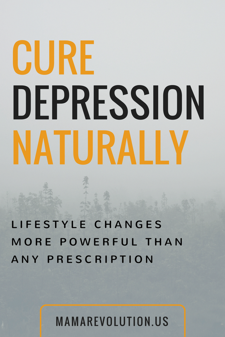 can depression be cured naturally