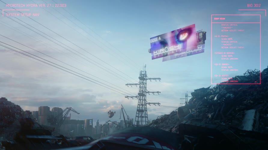 Official Cyberpunk 2077 HI RES WallpaperProjekt RED[HD,4k