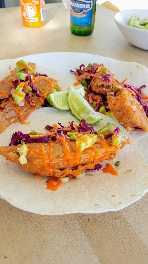 Vegan Fish Tacos - Kelham Island Kitchen