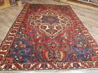 Ca1930 VGDY ANTIQUE PERSIAN VISS KARAJEH  SERAPI HERIZ 7x10 ESTATE SALE RUG