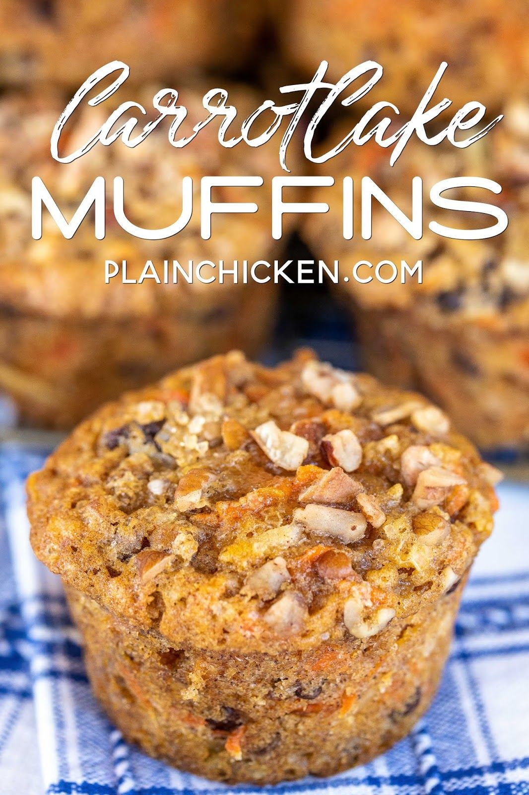 Carrot cake muffins what could be better than cake for
