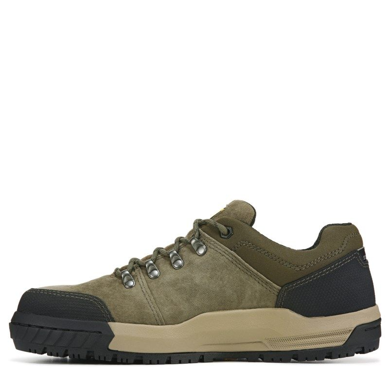 Caterpillar Men's Converge Medium/Wide Steel Toe Work Shoe Boots (Olive)