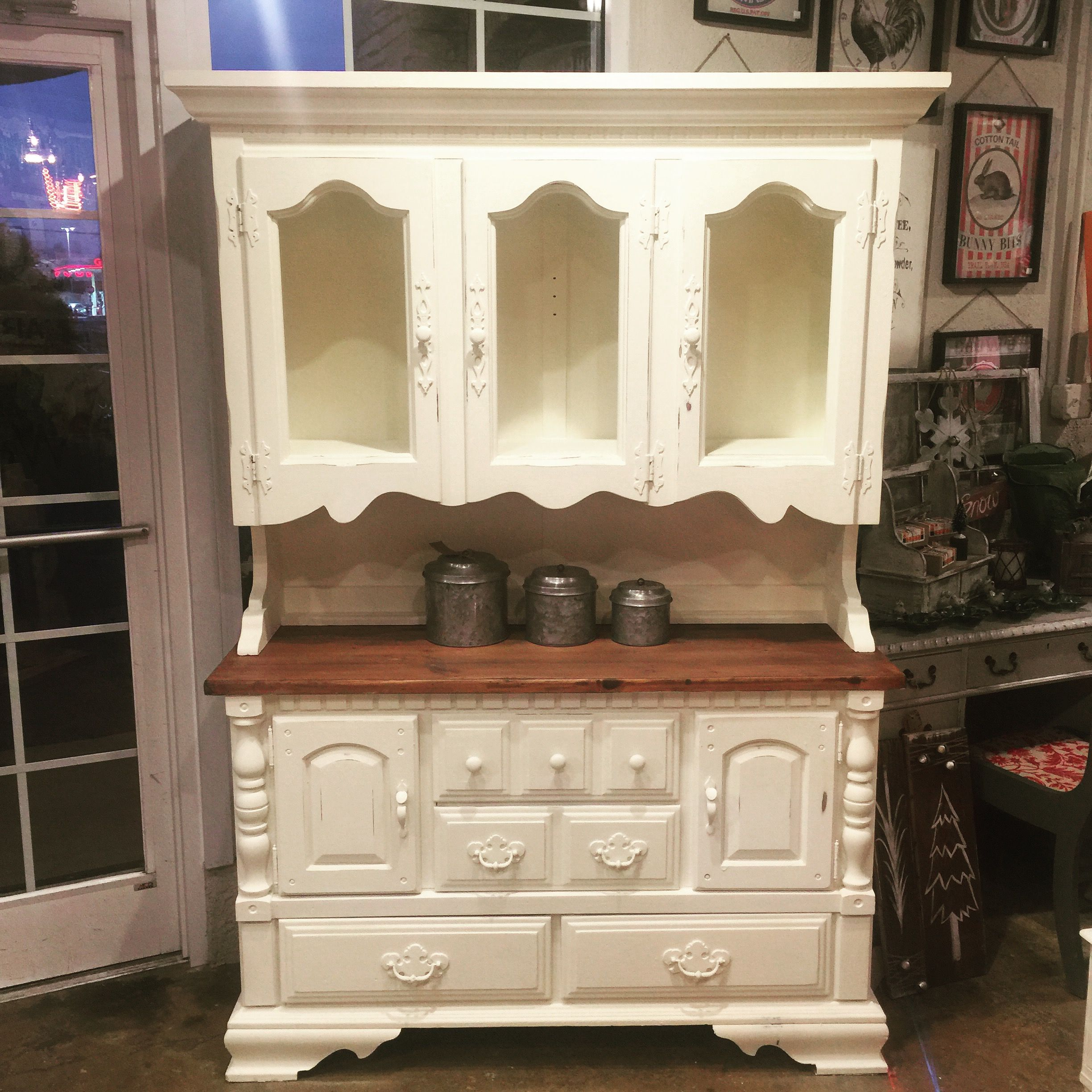 American Made Vintage Hutch This piece is the picture of Southern