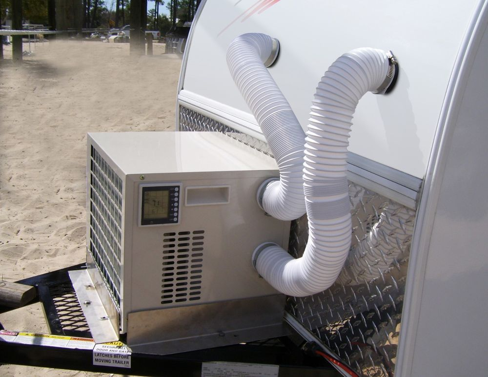 ClimateRight 5000btu Tear Drop, Trailer and Camping Tent A