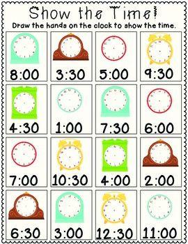 show the time maths pinterest. Black Bedroom Furniture Sets. Home Design Ideas
