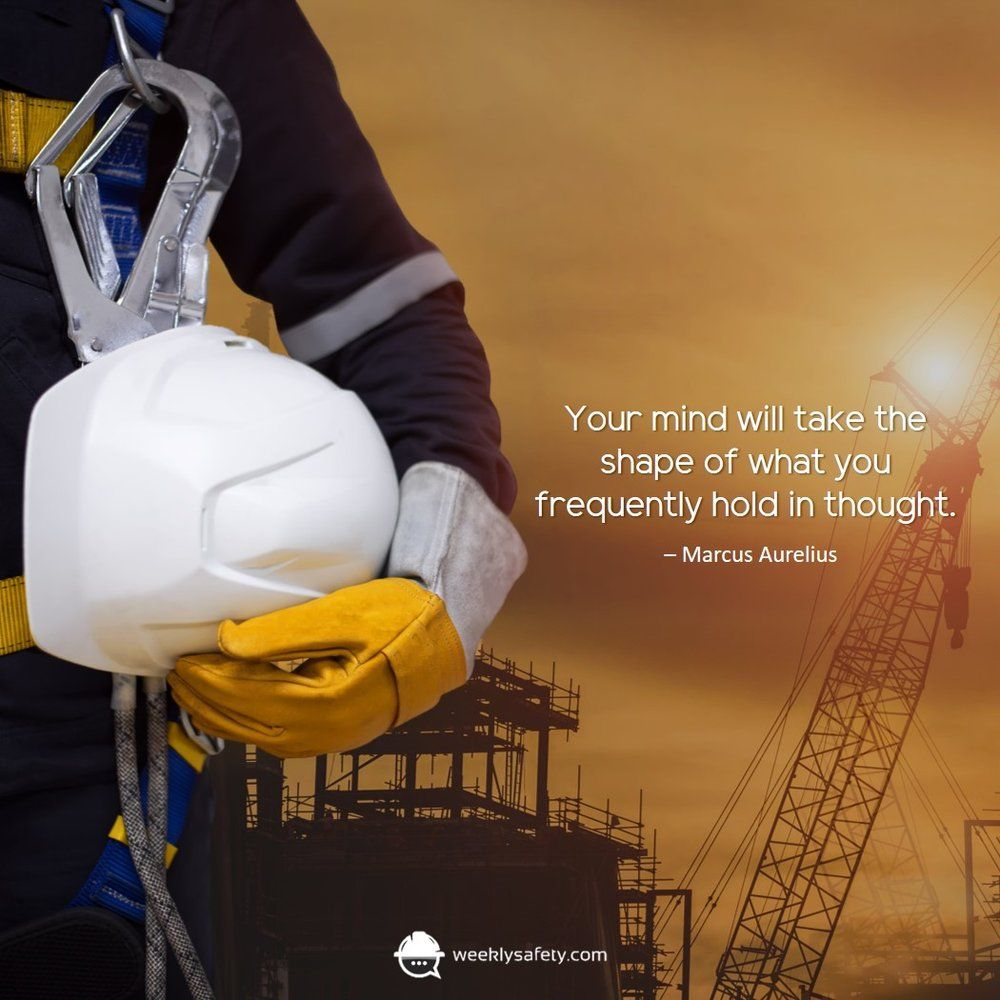 Your Mind, Your Thoughts Safety quotes, Occupational