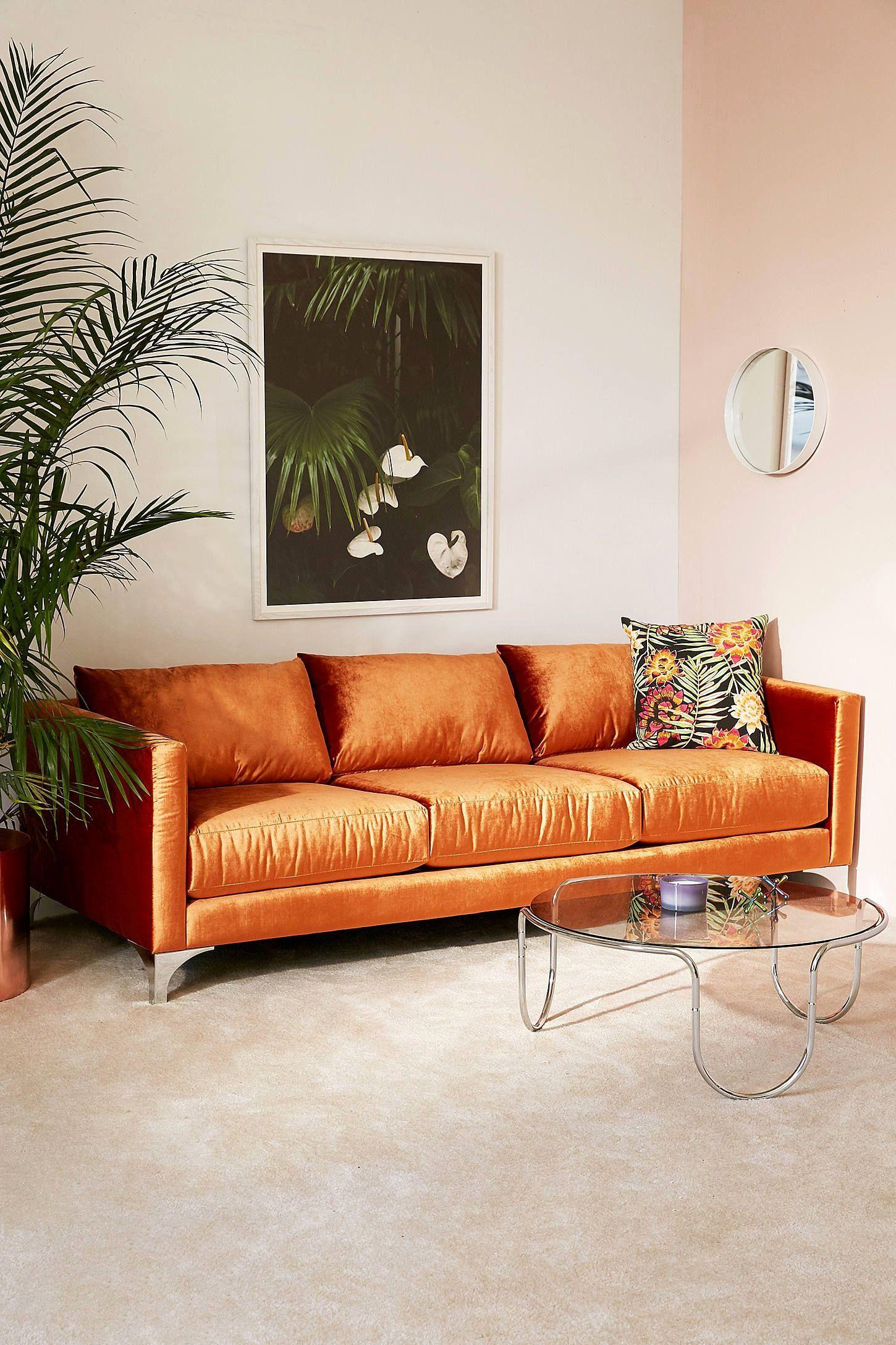 Pin en Orange sofa deco ideas