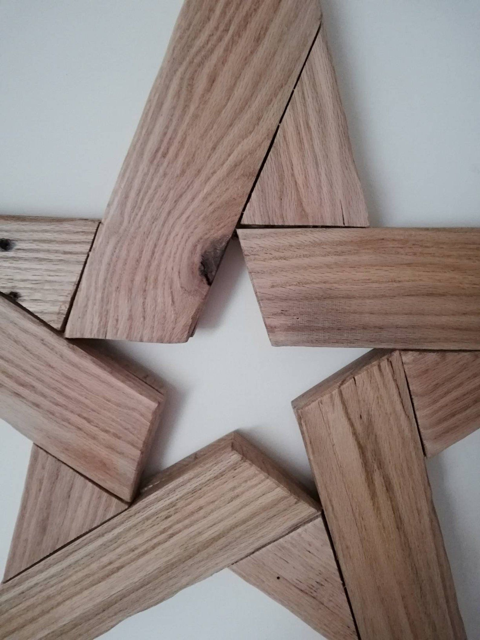Star Wall Hanging Pallet Wood Art Rustic Wooden Star Reclaimed