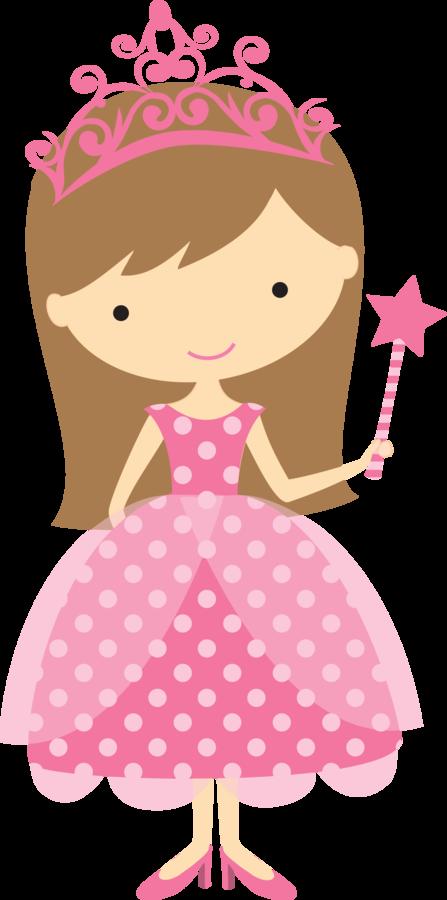 Cute Clipart Minus - Say Hello! Girl Princess | Cute ...