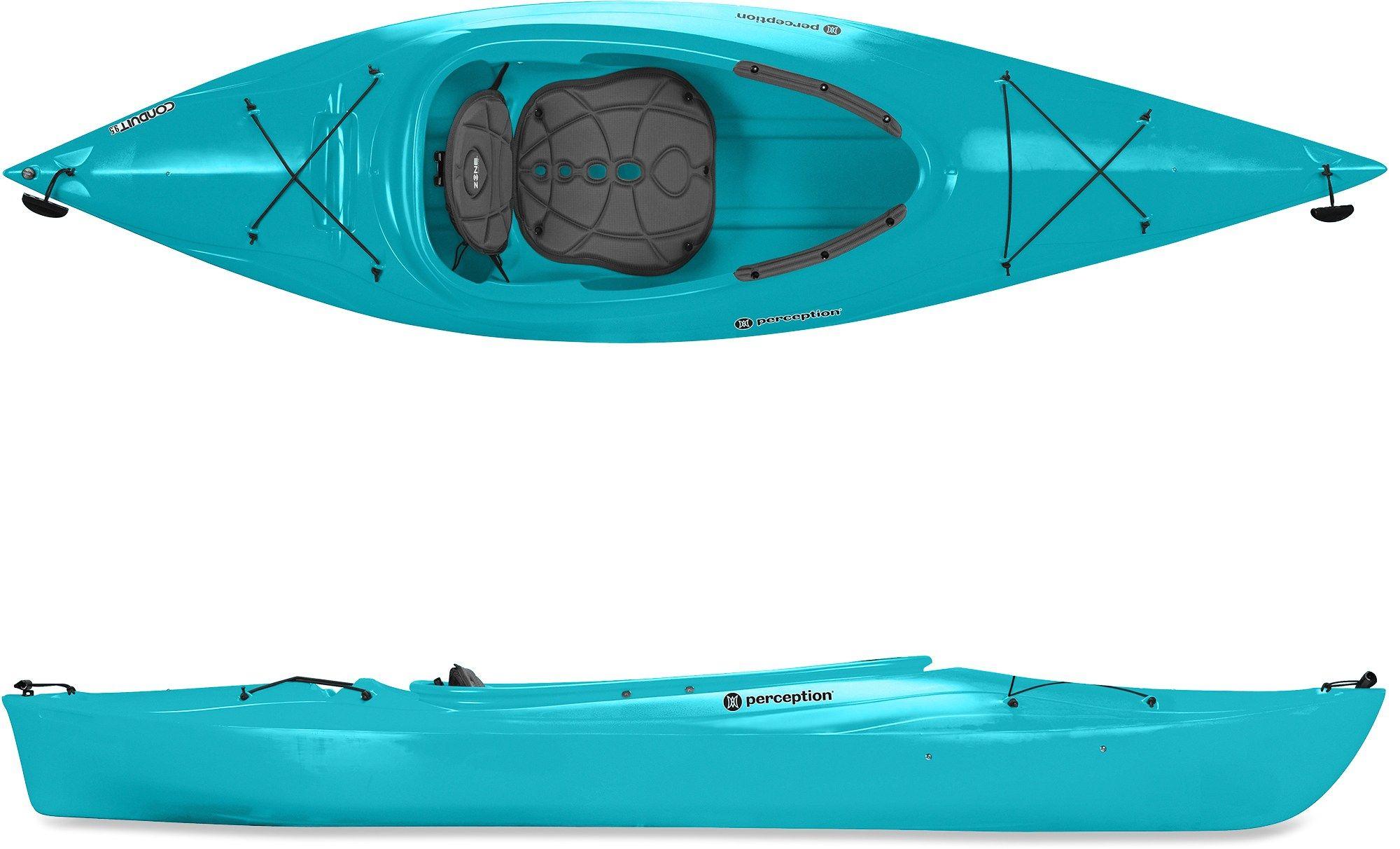 Perception Conduit 9.5 Kayak Kayaking, Recreational