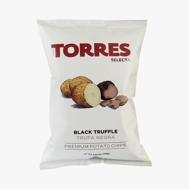 Chips aromatisées à la truffe noire Patatas Torres Find this product on Bon Marché website La Grande Epicerie de Paris http://www.lagrandeepicerie.com/produit/46963_chips-aromatisees-a-la-truffe-noire.html
