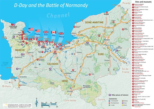1944 And The Battle Of Normandy Normandy Tourism France