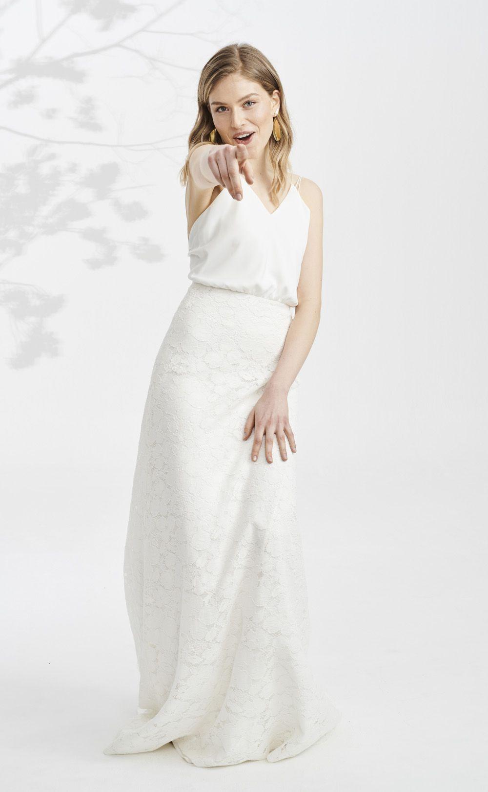 kisui.de skara | fit and flare kleid, brautmode, kleid hochzeit