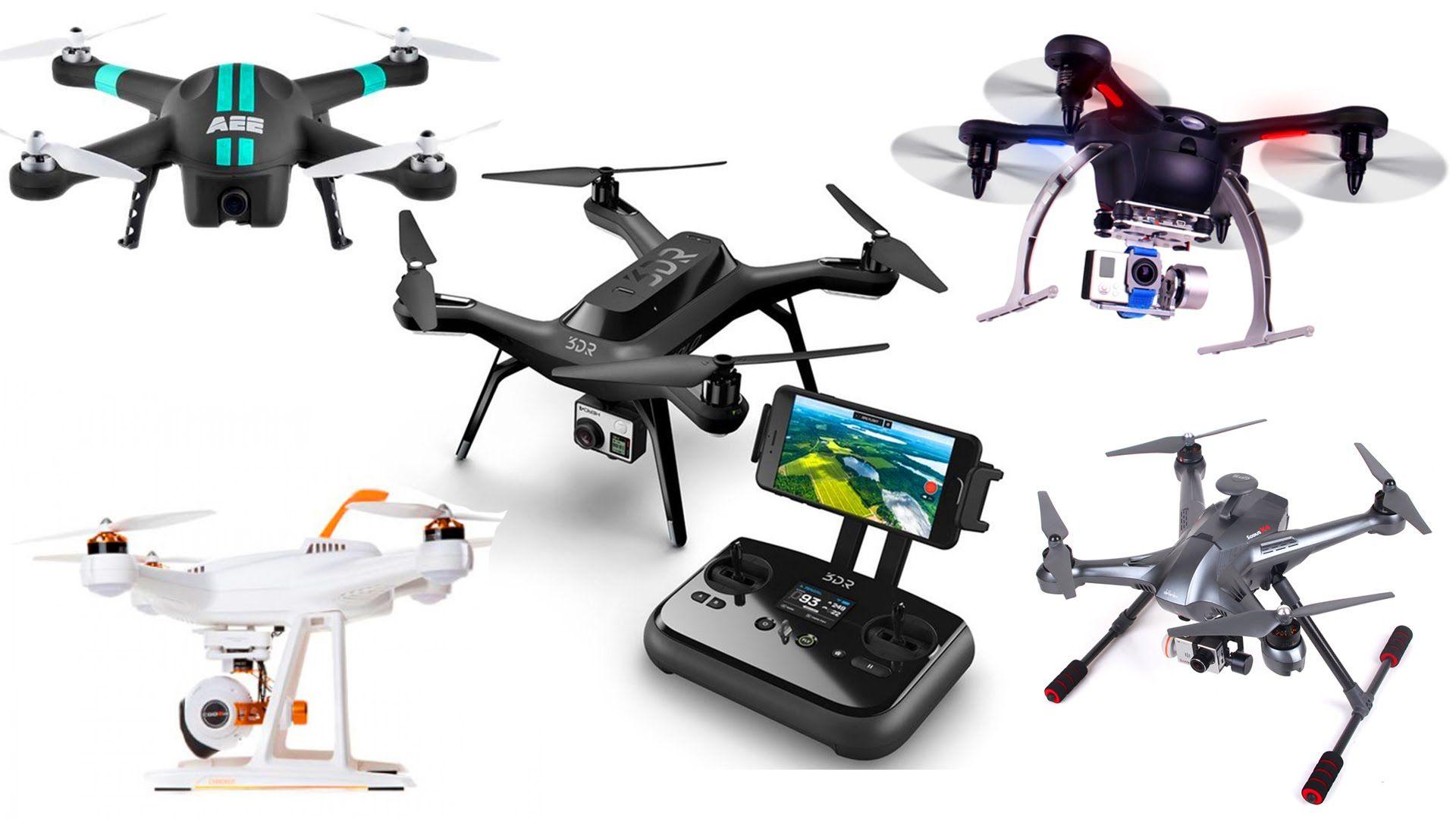 Top 5 DJI Phantom Quad-copter Drone Alternatives