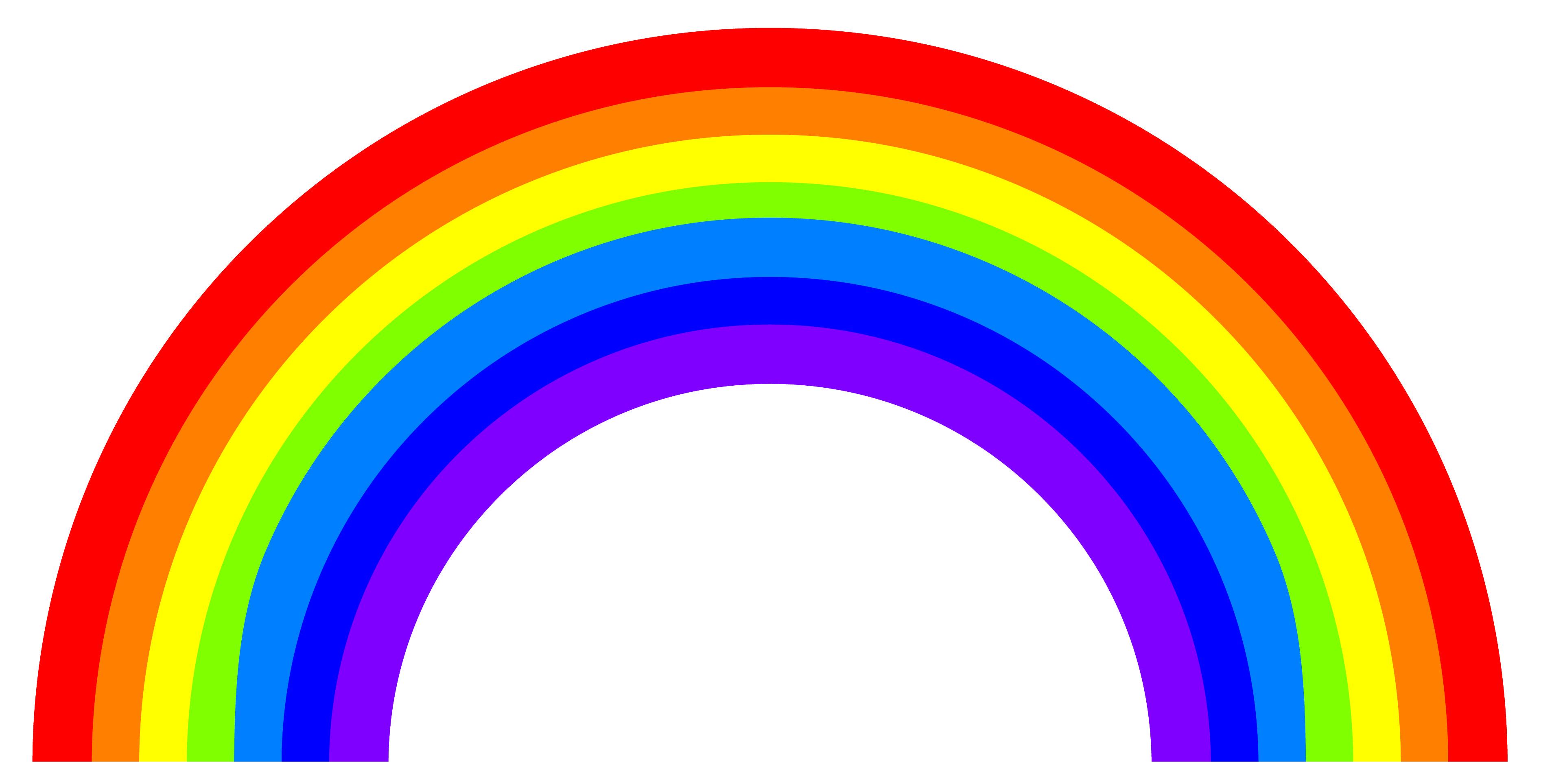 цветовая радуга картинка дизайне свадьбы