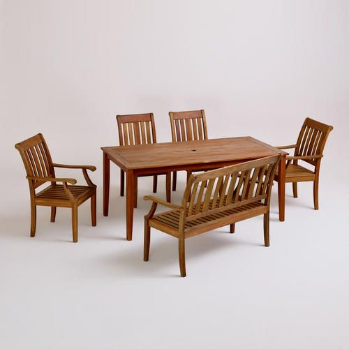 Outdoor Dining Furniture Rustic, World Market Patio Furniture