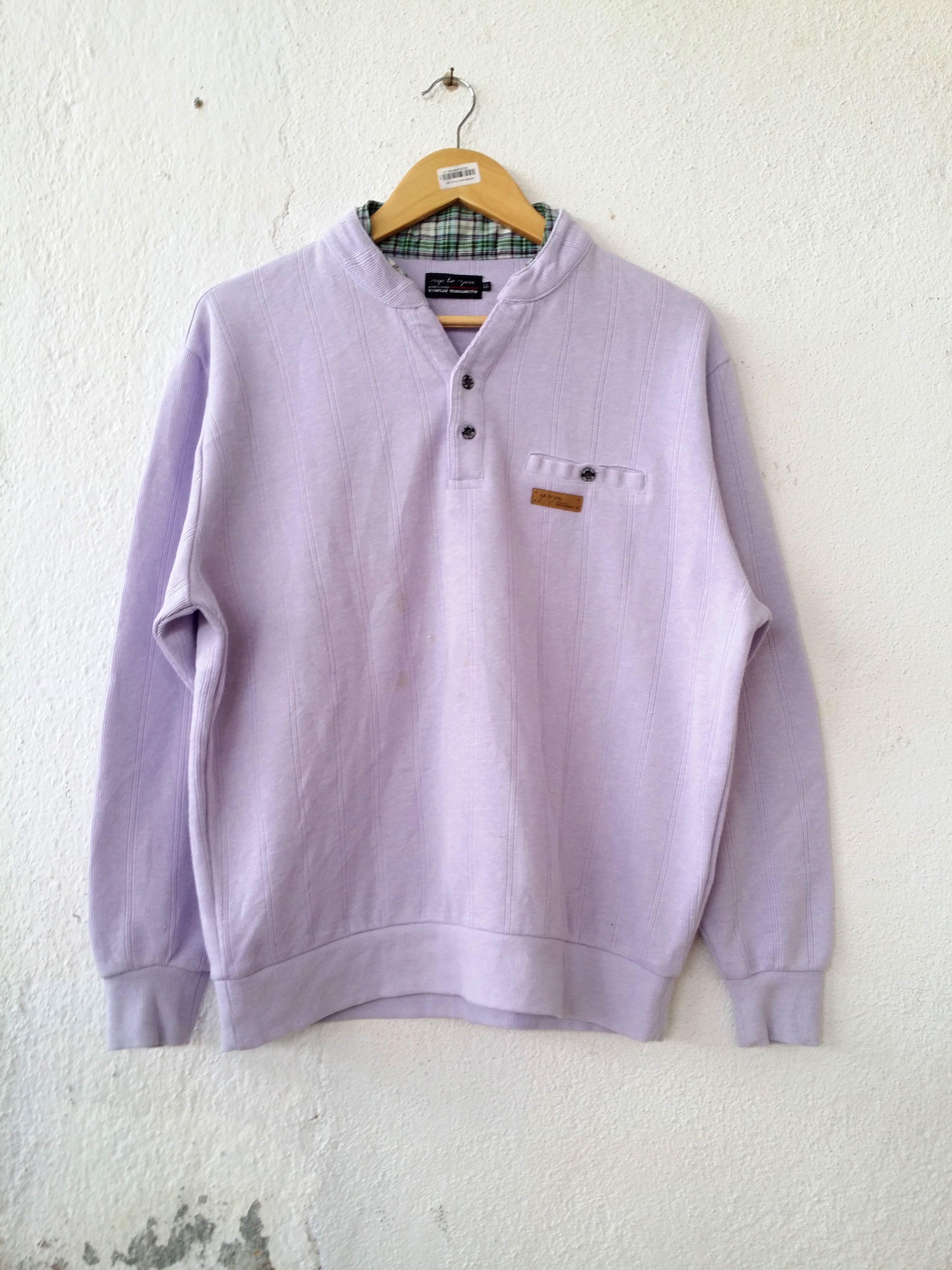 ec0409ddea03 Kansai Yamamoto Sweatshirt Up To You Jumper Pullover Size XL ...