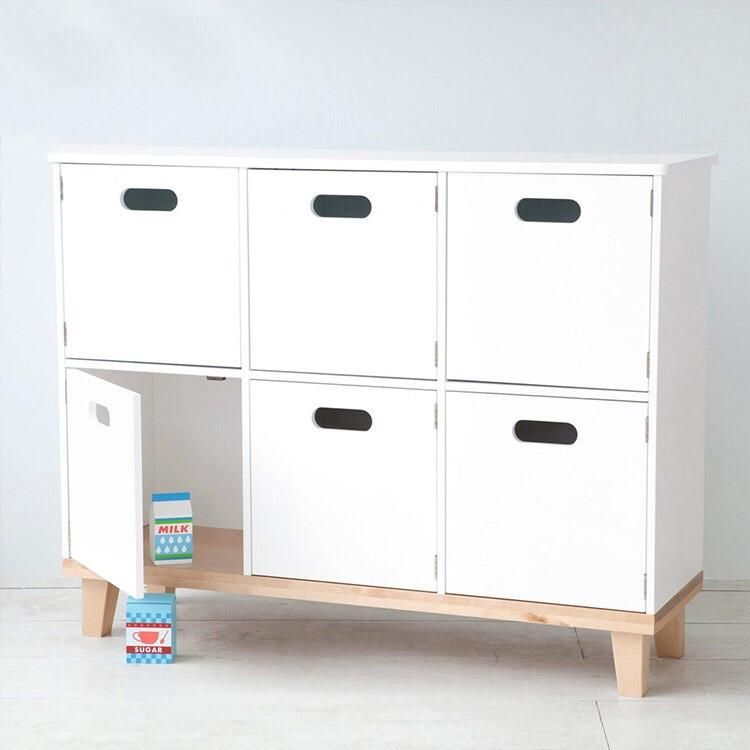6 Doors Cabinet Toy Book Storage Toy Cupboard Cupboard Storage Storage