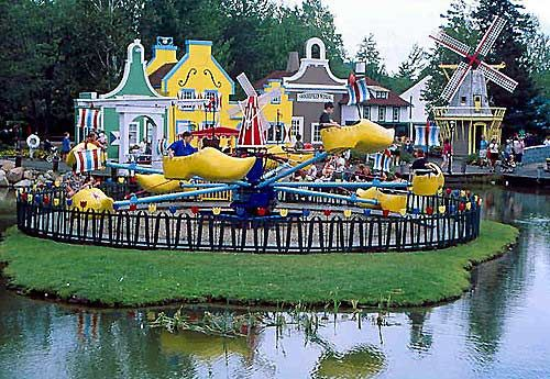 Picture Of The Flying Shoes At Storyland 5 Minutes From Our Condo