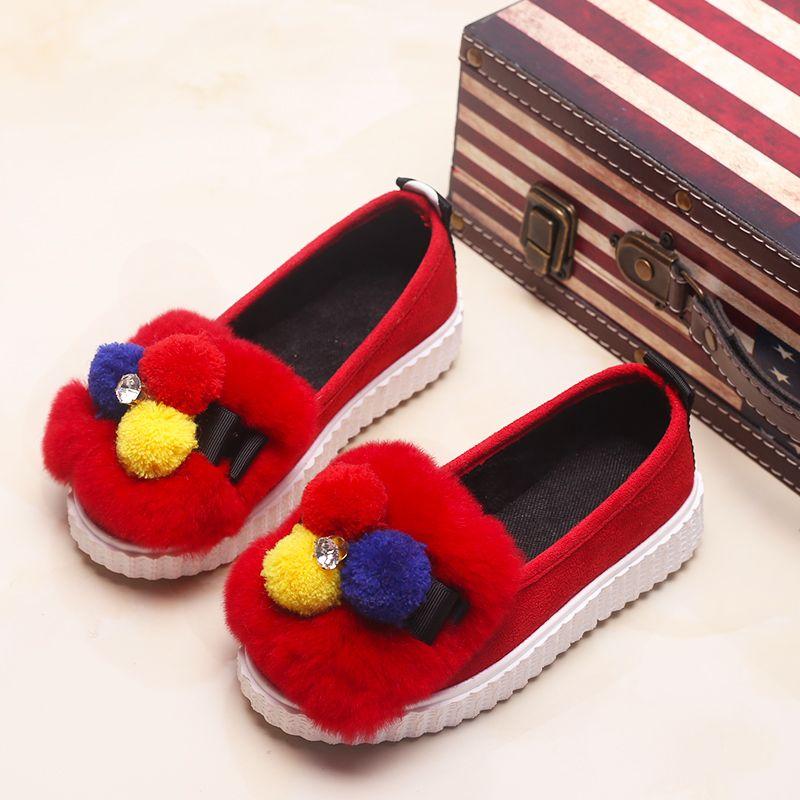 BOTTE Stars Baby Soft Sole Bottes de neige Chaussures de berceau doux Bottes d'enfant en bas âge@Rouge p80CeE7