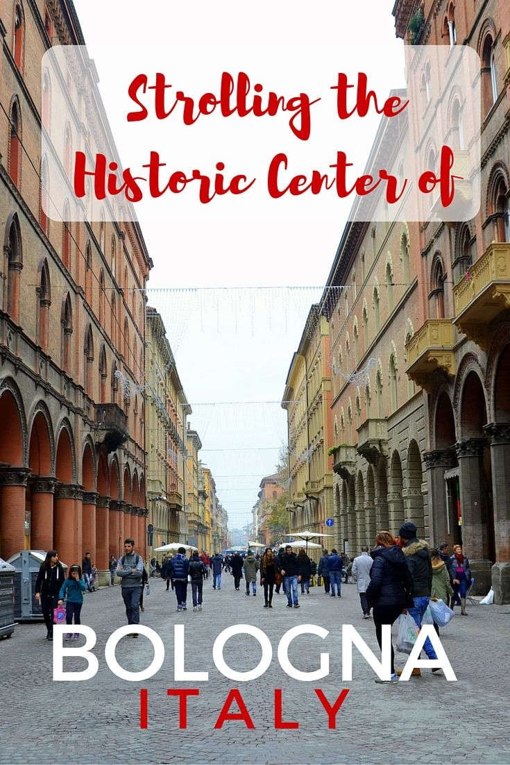 Guide and tips to visiting Bologna, Italy in one day. Virtually stroll through the historic center.