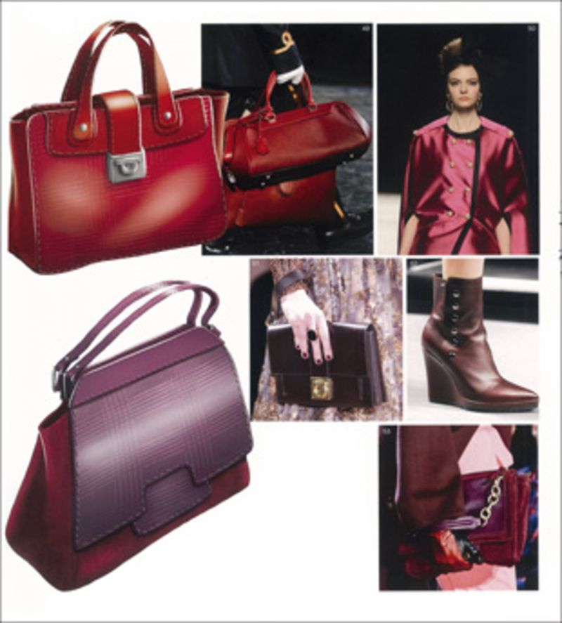 The Colour Oxblood Fall Winter