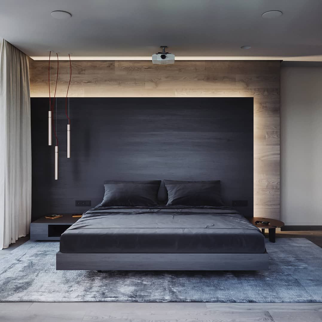 """Photo of ALL OF RENDERS on Instagram: """"#AllofRenders Bedroom Goals ♥ Render byStephen Tsimbalyuk  Are you looking for a support for your interior and and architectural visuals…"""""""
