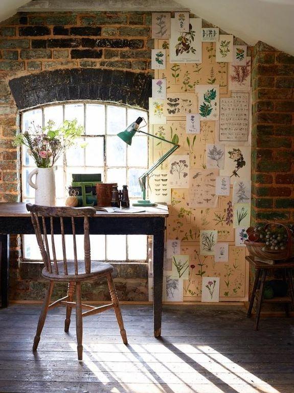 100 Charming Farmhouse Office Decor Ideas for Your Home Farmhouse