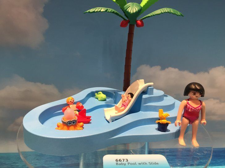 Playmobil Baby Pool With Slide Boo S Birthday Pinterest