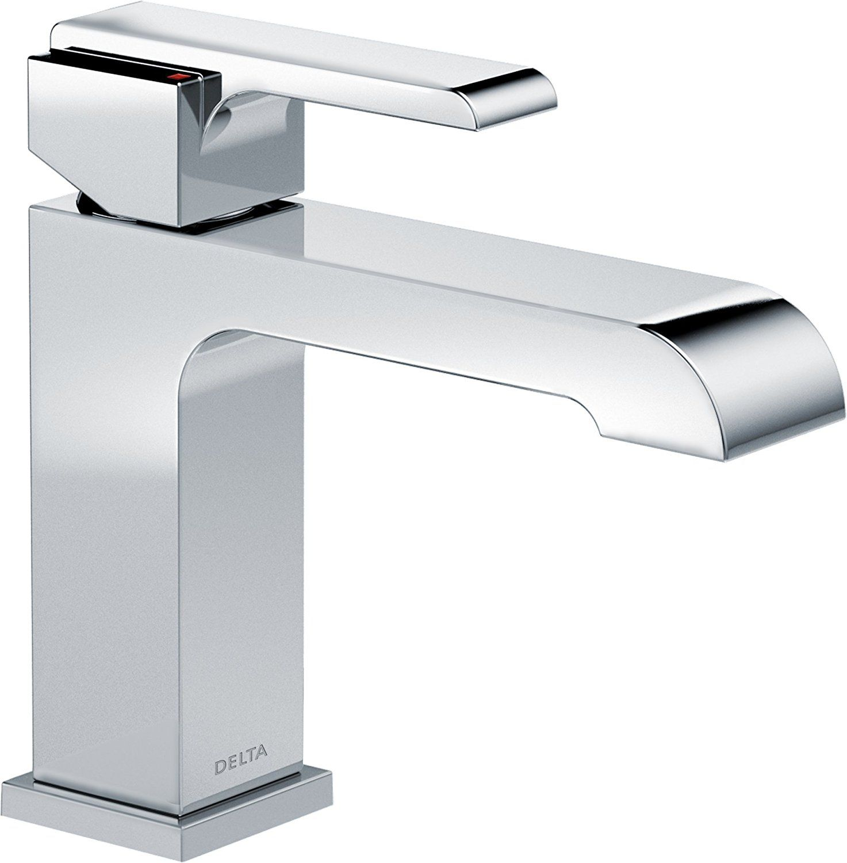 Delta Faucet Delta 567Lflpu Ara Single Handle Single Hole Gorgeous Delta Single Hole Bathroom Faucet Design Ideas