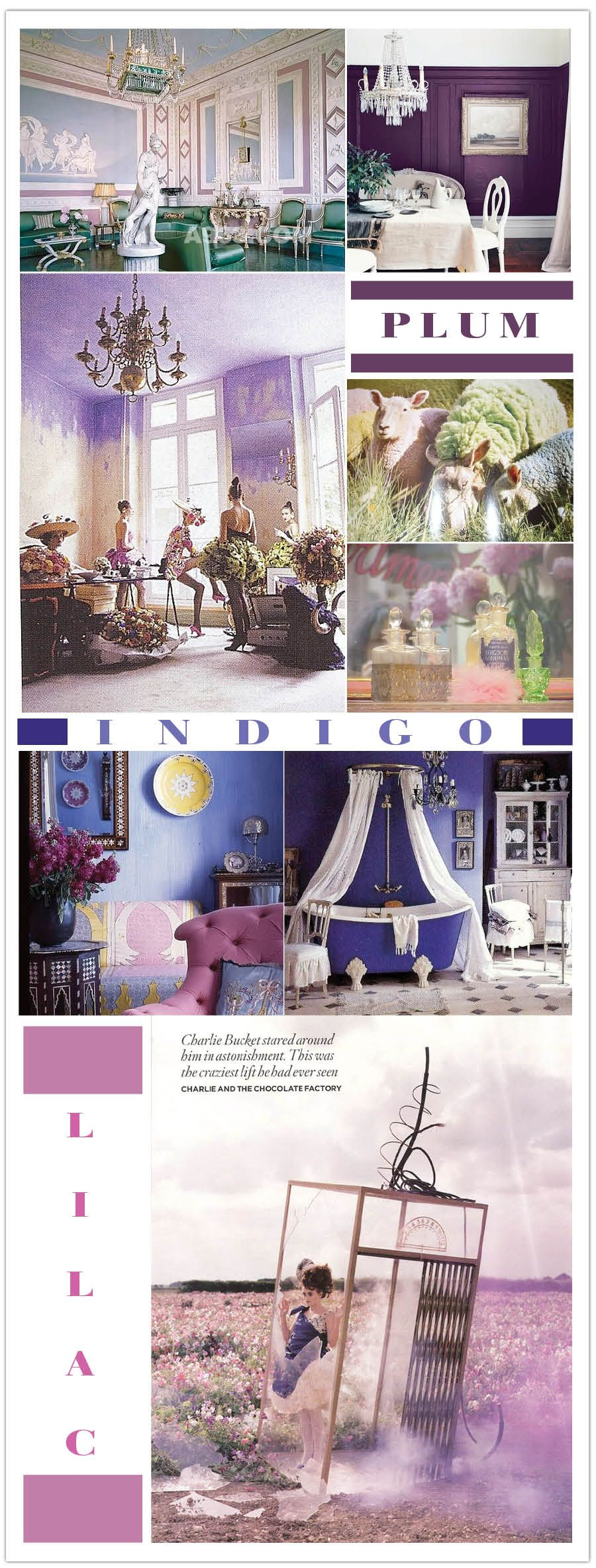 Purple Plum And Violet Interior Design Event Inspiration For Your Or Wedding