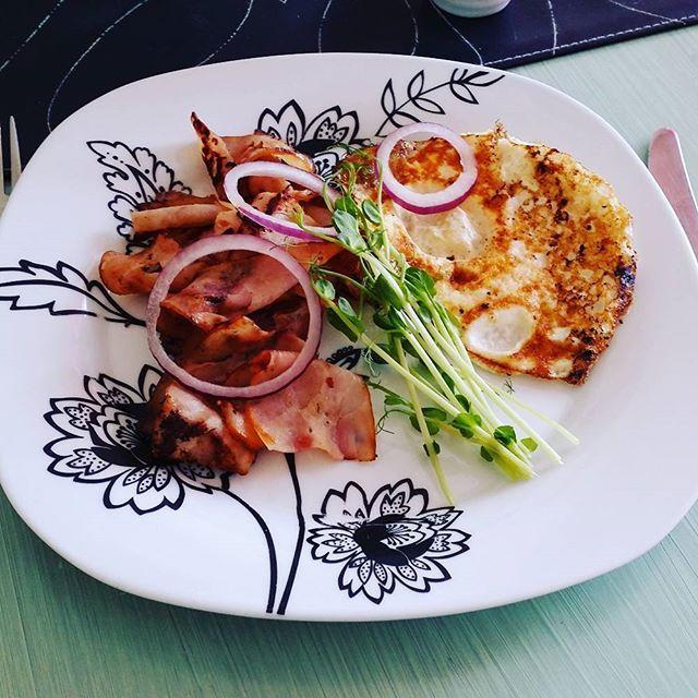 stekt ägg protein