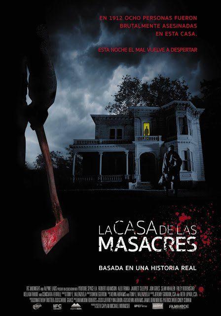 Poster Latino de LA CASA DE LAS MASACRES https://t.co/n6nJgQnJmR