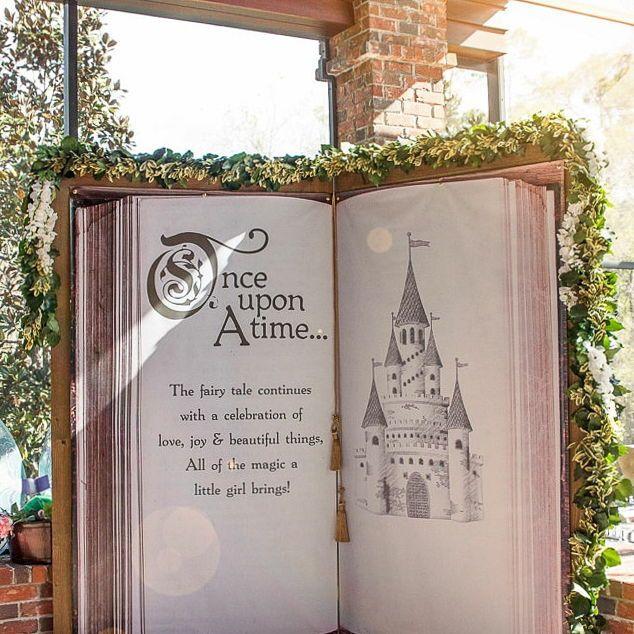 Debenhams Wedding Service Gift List Number: Wedding Backdrop Fairytale Castle For Ceremony Decor Or