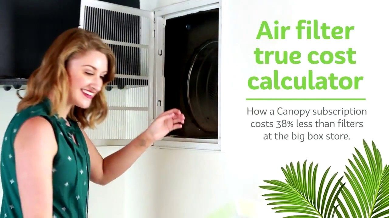 A video created for a home air filter subscription service