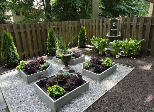 Backyard Planters Ideas add a rustic appeal to your garden with these wood apple wine whiskey barrel garden patio Goodbye Grass 7 Inspiring Ideas For A No Mow Backyard